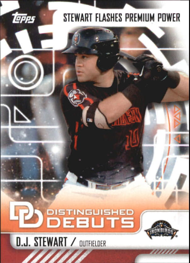 Buy Dj Stewart Cards Online Dj Stewart Baseball Price