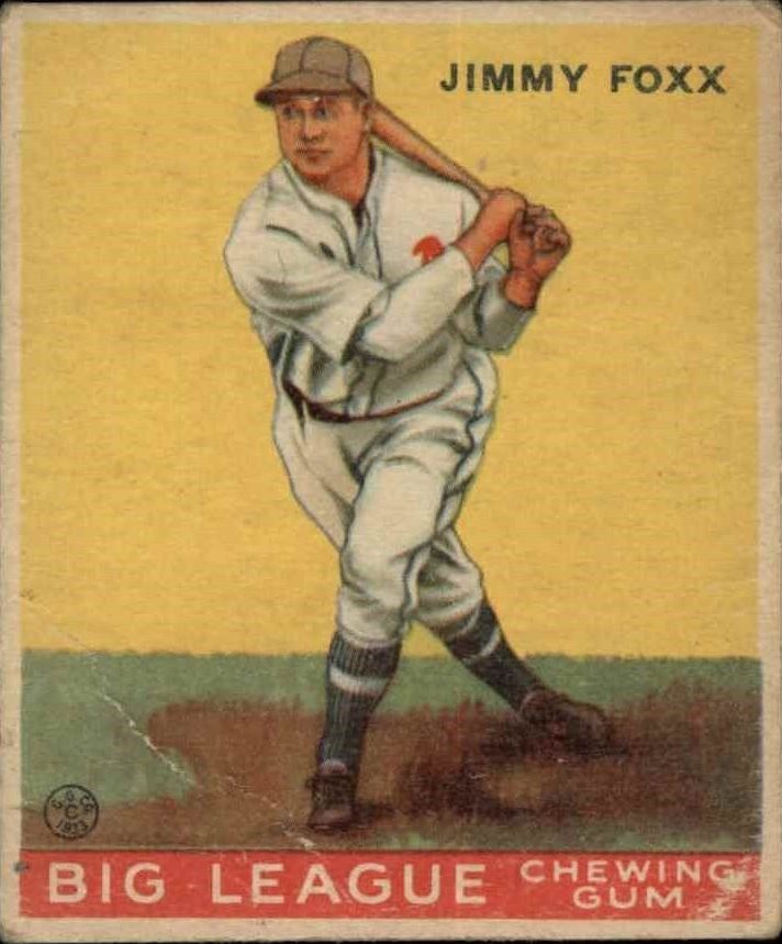 Buy Jimmie Foxx Cards Online Jimmie Foxx Baseball Price