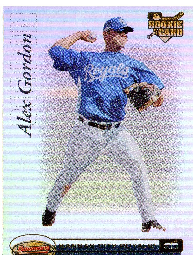 Buy Alex J Gordon Cards Online Alex J Gordon Baseball