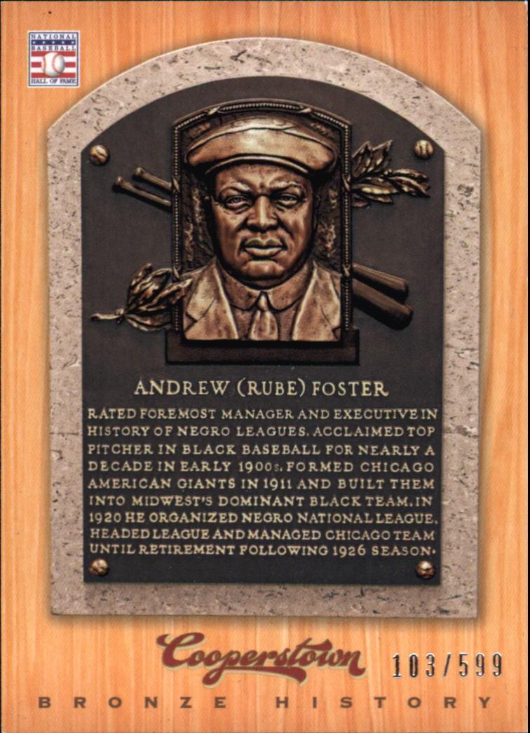 Buy Andrew Foster Cards Online Andrew Foster Baseball