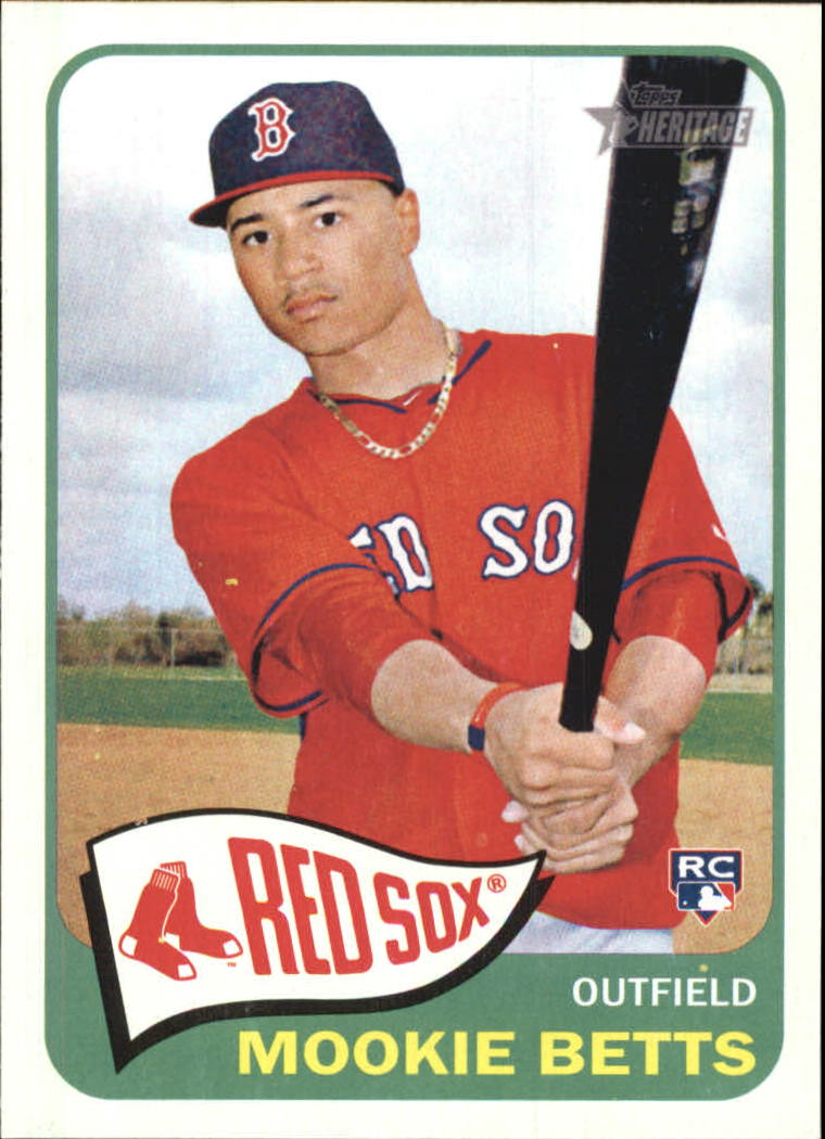 Buy Mookie Betts Cards Online Mookie Betts Baseball Price Guide