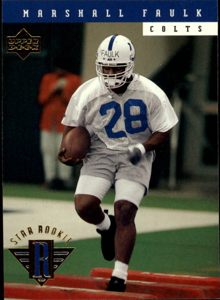 Buy Marshall Faulk Cards Online Marshall Faulk Football