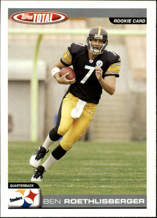 34b5f5200b7 Buy Ben Roethlisberger Cards Online | Ben Roethlisberger Football ...
