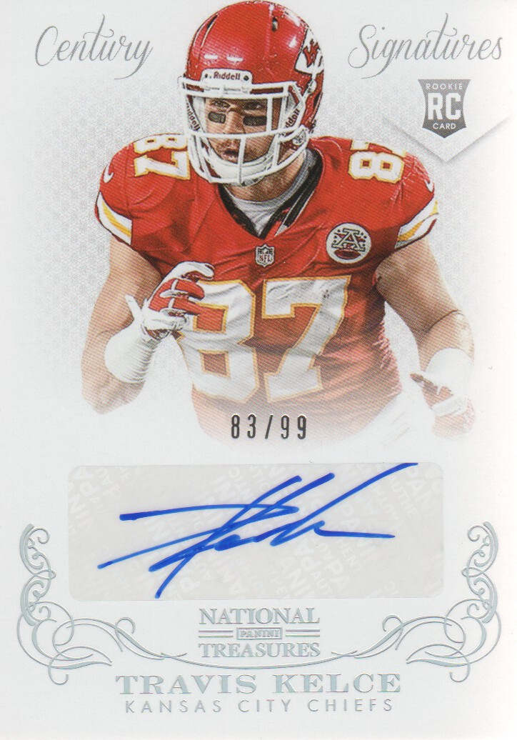 Buy Travis Kelce Cards Online | Travis Kelce Football Price