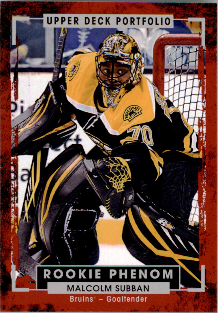 Buy Malcolm Subban Cards Online Malcolm Subban Hockey Price Guide