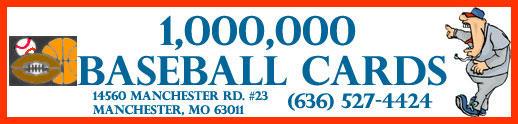 1,000,000 Baseball Cards