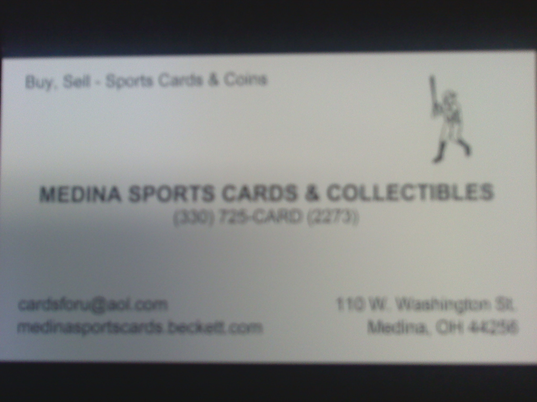 MEDINA SPORTSCARDS & COLLECTIBLES