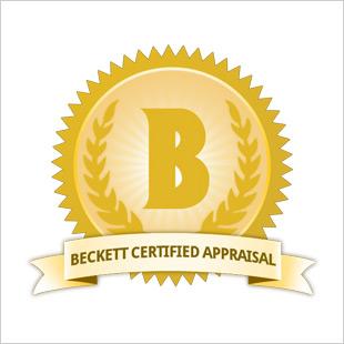 Beckett Certified Appraisal