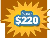 Save $220